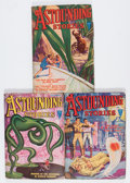 Pulps:Science Fiction, Astounding Stories Group (Street & Smith, 1932) Condition:Average VG.... (Total: 3 Items)