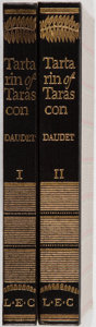 Books:Literature 1900-up, Alphonse Daudet. SIGNED/LIMITED. Tartarin of Tarascon.Limited Editions Club, 1930. Limited to 1500 hand-numbe... (Total:2 Items)
