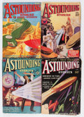 Pulps:Science Fiction, Astounding Stories Group (Street & Smith, 1933-34).... (Total:6 Items)