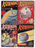 Pulps:Science Fiction, Astounding Stories Group (Street & Smith, 1935) Condition:Average VG-.... (Total: 7 Comic Books)