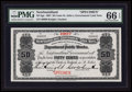 Canadian Currency: , St. John's, NF- Newfoundland Government Cash Note 50¢ 1907 Ch #NF-3gs Specimen. ...