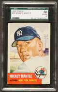 Baseball Cards:Singles (1950-1959), 1953 Topps Mickey Mantle #82 SGC 50 VG/EX 4....