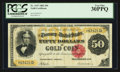 Large Size:Gold Certificates, Fr. 1197 $50 1882 Gold Certificate PCGS Very Fine 30PPQ.. ...