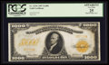 Large Size:Gold Certificates, Fr. 1219e $1000 1907 Gold Certificate PCGS Apparent Very Fine 25.. ...