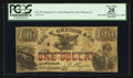 Obsoletes By State:Louisiana, New Orleans, LA- Geo. W. Gregor & Co. $1 (100 Cents) Ad Note. ...