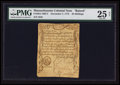 "Colonial Notes:Massachusetts, Massachusetts December 7, 1775 ""48s"" Raised From 8s PMG Very Fine25 Net.. ..."