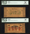Obsoletes By State:Louisiana, St. Martinsville, LA- Parish of St. Martin $1, $5 April 1, 1862. ... (Total: 2 notes)