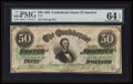 Confederate Notes:1863 Issues, T57 $50 1863 PF-1 Cr. 406.. ...