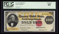 Large Size:Gold Certificates, Fr. 1214 $100 1882 Gold Certificate PCGS Gem New 65.. ...