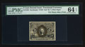 Fractional Currency:Second Issue, Fr. 1235 5¢ Second Issue PMG Choice Uncirculated 64 EPQ.. ...