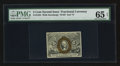 Fr. 1234 5¢ Second Issue PMG Gem Uncirculated 65 EPQ