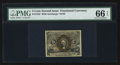 Fractional Currency:Second Issue, Fr. 1233 5¢ Second Issue PMG Gem Uncirculated 66 EPQ.. ...