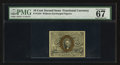 Fractional Currency:Second Issue, Fr. 1244 10¢ Second Issue PMG Superb Gem Unc 67 EPQ.. ...