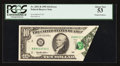 Error Notes:Foldovers, Fr. 2031-B $10 1995 Federal Reserve Note. PCGS About New 53.. ...