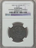 Large Cents, 1802 1C No Stems -- Environmental Damage -- NGC Details. VF. S-231.NGC Census: (25/223). PCGS Population (36/286). Mintag...