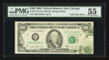 Error Notes:Foldovers, Fr. 2172-G $100 1988 Federal Reserve Note. PMG About Uncirculated55.. ...