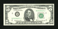 Small Size:Federal Reserve Notes, Fr. 1969-B* $5 1969 Federal Reserve Note. Extremely Fine.. ...