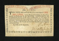 Colonial Notes:New York, New York August 25, 1774 (Water Works) 1s New....