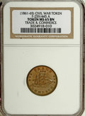 Civil War Patriotics, Gem Pair of NGC-Graded Civil War Patriotics.... (Total: 2 tokens)
