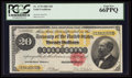 Large Size:Gold Certificates, Fr. 1178 $20 1882 Gold Certificate PCGS Gem New 66PPQ.. ...