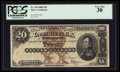 Large Size:Silver Certificates, Fr. 310 $20 1880 Silver Certificate PCGS Very Fine 30.. ...