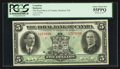 Canadian Currency: , Montreal, PQ- The Royal Bank of Canada $5 Jan. 1927 Ch # 630-14-04. ...