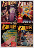 Pulps:Science Fiction, Astounding Stories Group (Street & Smith, 1937-38) Condition:Average VG except as noted.... (Total: 8 Items)