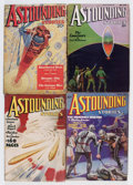Pulps:Science Fiction, Astounding Stories Group (Street & Smith, 1936) Condition:Average VG.... (Total: 7 Items)