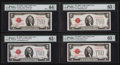 Small Size:Legal Tender Notes, Legal Tender $2 Assortment. ... (Total: 4 notes)