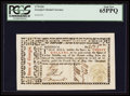 Colonial Notes:Georgia, Georgia May 4, 1778 $20 PCGS Gem New 65PPQ.. ...