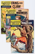 Golden Age (1938-1955):Classics Illustrated, Classics Illustrated #120 and 122-137 Group (Gilberton, 1954-57) Condition: Average VG/FN.... (Total: 17 Comic Books)
