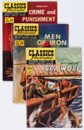 Golden Age (1938-1955):Classics Illustrated, Classics Illustrated First Editions Group (Gilberton, 1951-54) Condition: Average VG-.... (Total: 20 Comic Books)