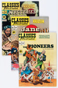 Golden Age (1938-1955):Classics Illustrated, Classics Illustrated Group (Gilberton, 1947-50) Condition: AverageVG.... (Total: 9 Comic Books)