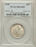 Standing Liberty Quarters: , 1930 25C MS64 Full Head PCGS. PCGS Population (910/981). NGCCensus: (782/644). Mintage: 5,632,000. Numismedia Wsl. Price f...