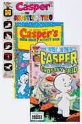 Bronze Age (1970-1979):Cartoon Character, Casper the Friendly Ghost Related File Copy Group (Harvey, 1970s)Condition: Average NM-.... (Total: 74 Comic Books)