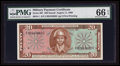 Military Payment Certificates:Series 681, Series 681 $20 PMG Gem Uncirculated 66 EPQ.. ...