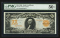 Large Size:Gold Certificates, Fr. 1185 $20 1906 Gold Certificate PMG About Uncirculated 50 EPQ.....