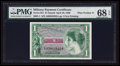 Military Payment Certificates:Series 651, Series 651 $1 PMG Superb Gem Unc 68 EPQ.. ...