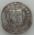 Mexico, Mexico: Carlos & Johanna Lot of Two 4 Reales Coins No Date(1544-1548),... (Total: 2 items)