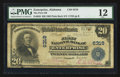 National Bank Notes:Alabama, Enterprise, AL - $20 1902 Plain Back Fr. 650 The First NB Ch. # 6319. ...