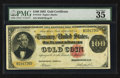 Large Size:Gold Certificates, Fr. 1212 $100 1882 Gold Certificate PMG Choice Very Fine 35.. ...