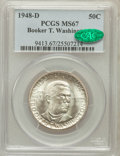 Commemorative Silver, 1948-D 50C Booker T. Washington MS67 PCGS. CAC....