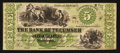 Obsoletes By State:Michigan, Tecumseh, MI- Bank of Tecumseh $5 Aug. 22, 1859 G30a Lee TEC-3-15. ...