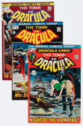 Bronze Age (1970-1979):Horror, Tomb of Dracula Group (Marvel, 1972-74).... (Total: 13 Comic Books)