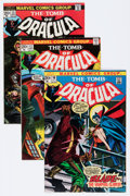 Bronze Age (1970-1979):Horror, Tomb of Dracula #10, 12, and 13 Blade Group (Marvel, 1973)Condition: Average VF.... (Total: 3 Comic Books)