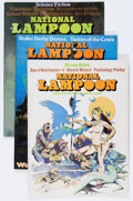 Magazines:Humor, National Lampoon and Other Magazines Box Lot (Various, 1960s-'70s) Condition: Average FN....
