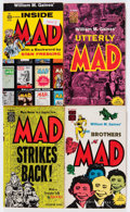 Memorabilia:MAD, Mad Paperbacks Box Lot (Various, 1950s-'70s) Condition: AverageFN....