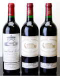Red Bordeaux, Chateau Margaux . 1995 Margaux 1lbsl, 1lnl Bottle (2).Chateau Leoville Las Cases . 1995 St. Julien Bott... (Total:3 Btls. )