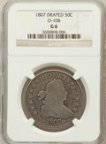 Early Half Dollars, 1807 50C Draped Bust Good 6 NGC. O-108. NGC Census: (14/1641). PCGSPopulation (23/1205). Mintage: 301,076. Numismedia Wsl....