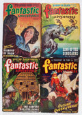 Pulps:Science Fiction, Fantastic Adventures Box Lot (Ziff-Davis, 1943-50) Condition:Average VG....